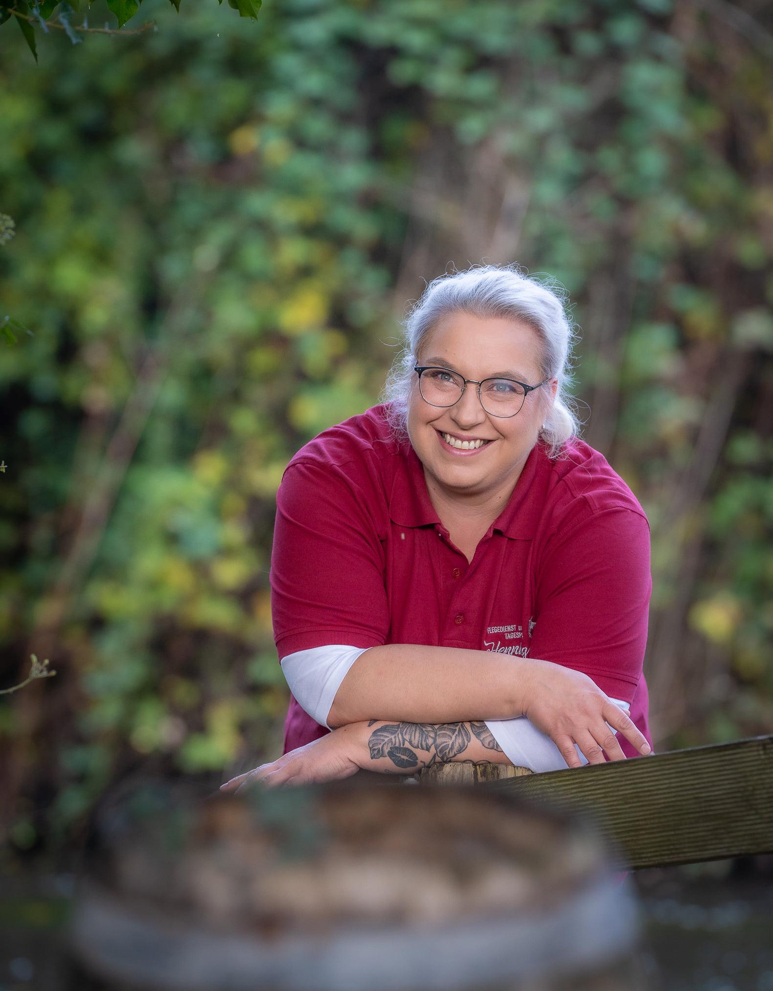 Frau Glandien - Pflegekraft: Betreuungskraft
