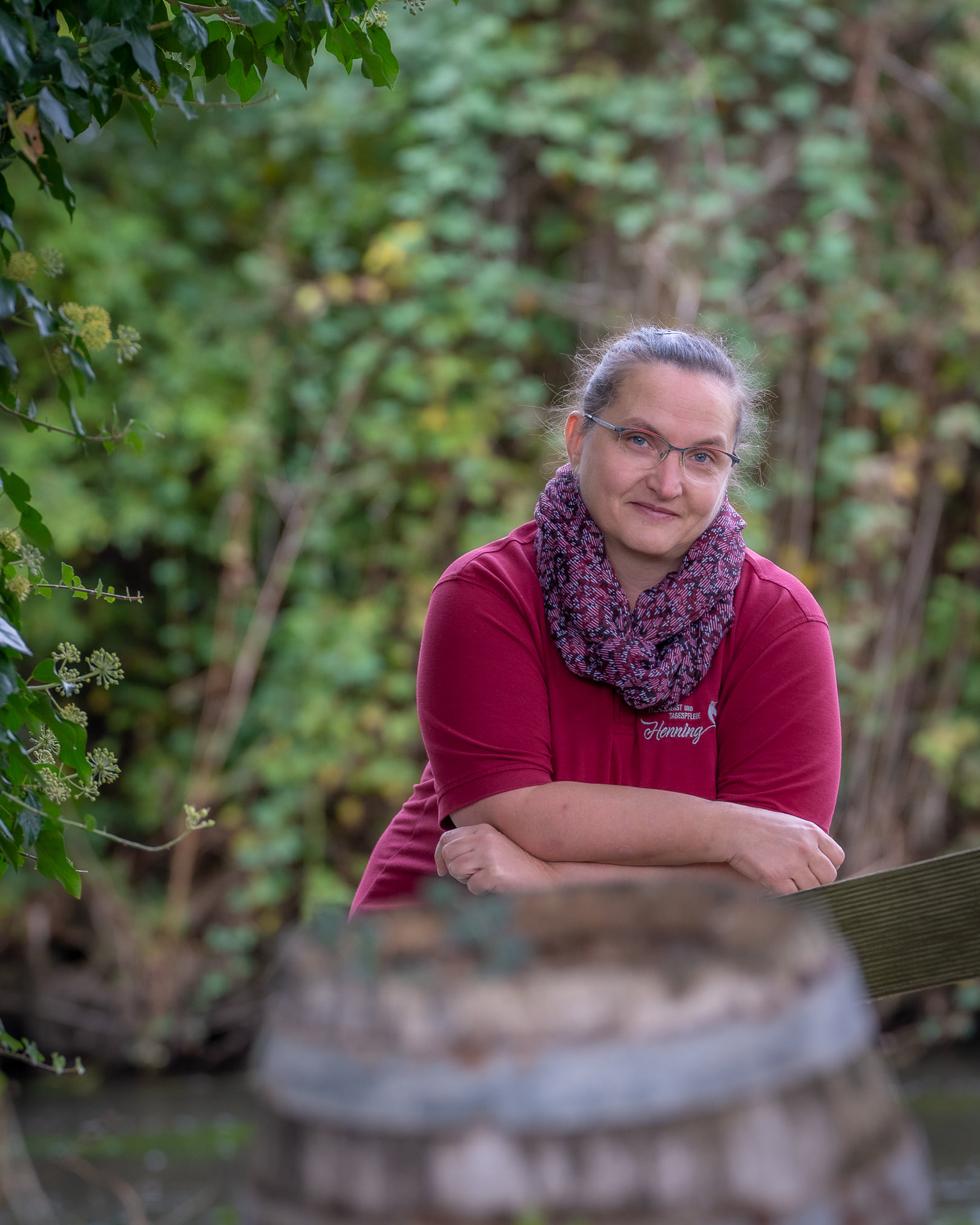 Frau Hinze - Pflegefachkraft