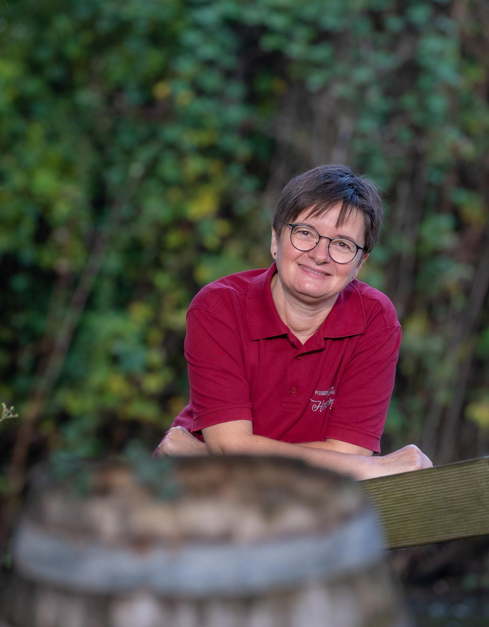 Frau Krawczyk - Pflegefachkraft